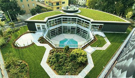 Tetti verdi puntocasa - Giardino sul tetto ...