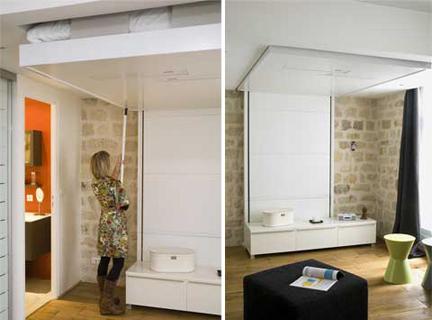Arredamento salvaspazio puntocasa for Arredamento salvaspazio mobili multifunzionali