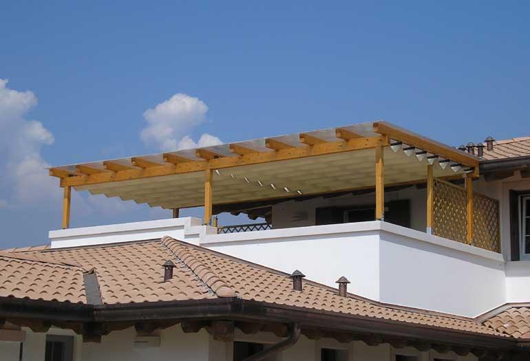 Installazione di un pergolato puntocasa for Piano casa per 1000 piedi quadrati