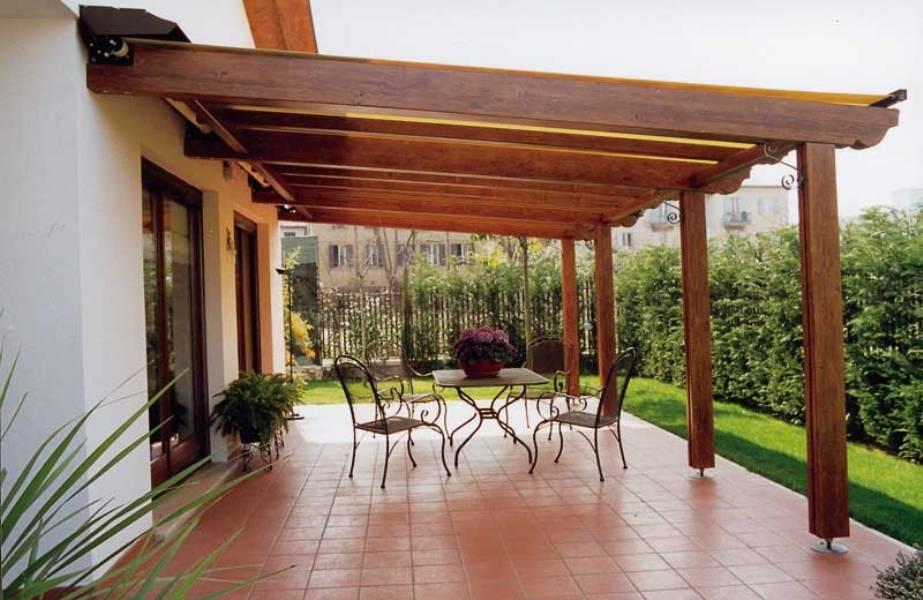 Installazione di un pergolato puntocasa for Permessi per case in legno