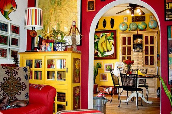 Stile messicano in casa lavelli in rame e ceramiche for Mexican interior designs